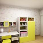 ספריה לחדר ילדים מחייכת