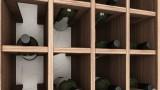 ארון לחנות יין עץ מלא